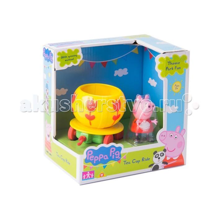 Каталка-игрушка Peppa Pig Чашка с фигуркой
