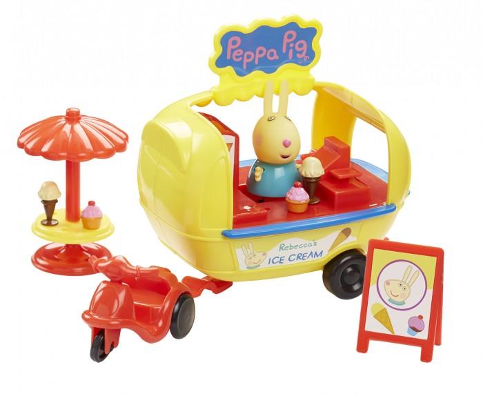 Peppa Pig Игровой набор Кафе-мороженое Ребекки