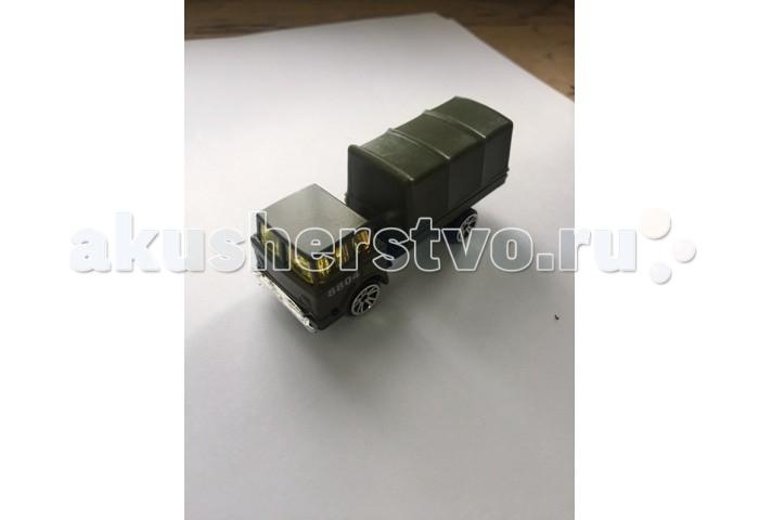 MotorMax Военная техника - Грузовик (Масштаб: 1:47)Военная техника - Грузовик (Масштаб: 1:47)Игрушечная модель грузовика из серии Военная техника - станет отличным подарком для любого мальчишки! Игрушка изготовлена из высококачественного материала.  Основные характеристики:   Размер упаковки: 10 x 4 x 5 см Масштаб: 1:47 Вес: 0,9 кг<br>