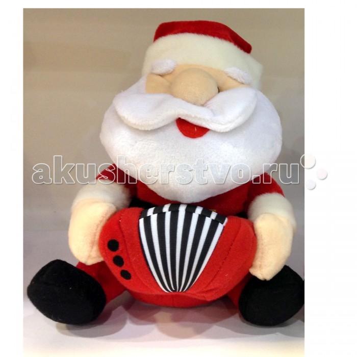 Интерактивная игрушка LAPA House  Санта с гармонью 21 см