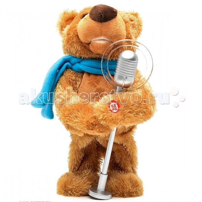 Интерактивная игрушка Veld CO Мишка АртистМишка АртистVeld CO Интерактивный Мишка Артист  Мягкая интерактивная игрушка мишка Артист — это весёлый и яркий подарок для Вашего ребёнка Медведь Артист умеет разговаривать, повторять сказанное, поёт песни, рассказывает сказки и танцует Мягкий, приятный на ощупь — этот мишка понравится не только детям, но порадует и взрослых. Как положено артисту, Мишка поет песенки и танцует. Он также может рассказать Вашему ребенку сказку. Вам понравилась исполненная песня или сказка? Тогда просто скажите «Хочу еще!» и мишка повторит свой номер на бис Детская игрушка интерактивный мишка Артист - это веселый и забавный подарок для всей семьи!  Шерстка великого исполнителя выполнена из качественного экологически чистого материала, очень приятного на ощупь. Работает интерактивная игрушка от обычных пальчиковых батареек, (не входят в комплект)  Возраст: с 3 лет.<br>