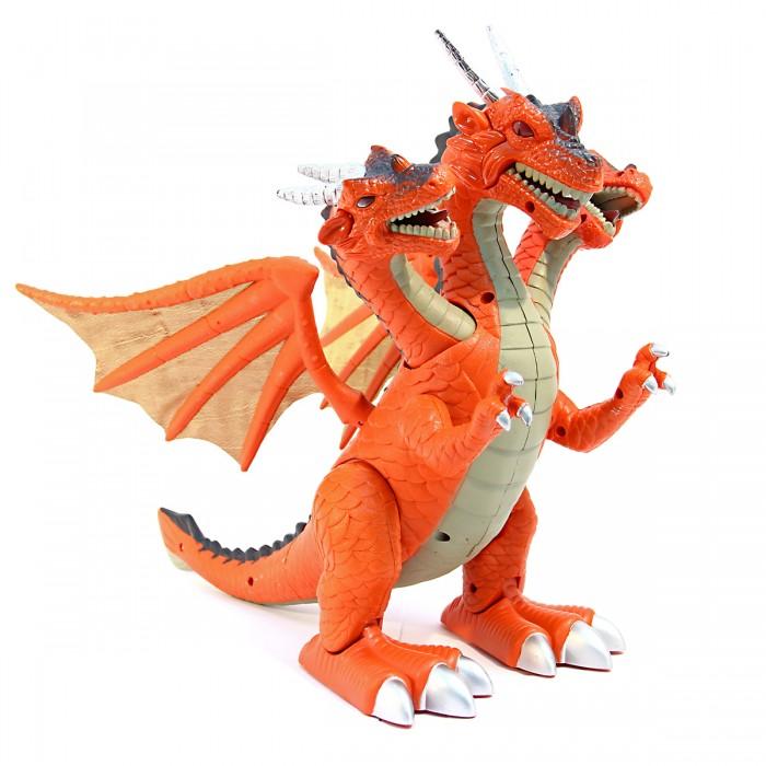 Интерактивная игрушка Veld CO Динозавр Трехголовый