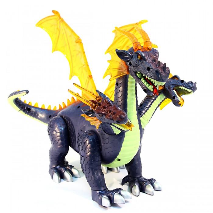 Интерактивная игрушка Veld CO Динозавр трехголовый с крыльями