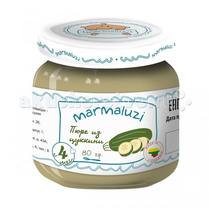 Marmaluzi Пюре из цуккини с 4 мес. 80 г