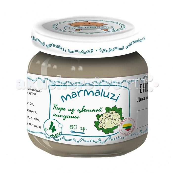 Marmaluzi Пюре из цветной капусты с 4 мес. 80 г