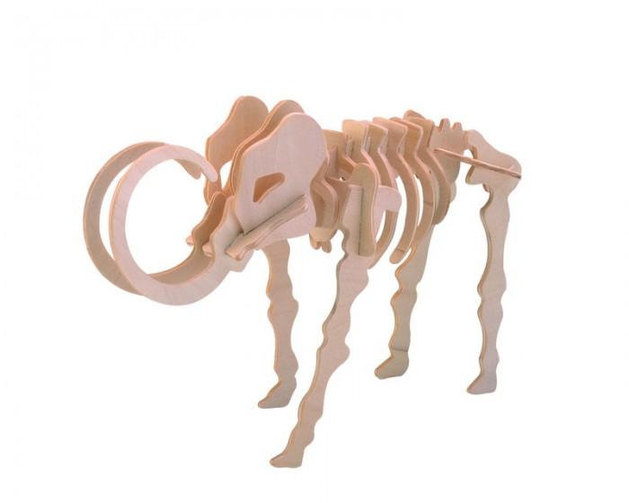 Конструктор МДИ Мамонт 19 элементовМамонт 19 элементовМДИ Мамонт 19 элементов Ж011                       Этот род млекопитающих из семейства слоновых в данный момент считается вымершим. При сборки этой модели можно с легкостью перенестись во времена ледникового периода. Вы сможете шаг за шагом воссоздать скелет это животного. Все детали изготовлены из дерева и легко собираются. Главное следовать инструкциям. Готовую модель можно раскрасить и покрыть лаком. Она может стать красивым украшением вашего дома. Ее также можно использовать в качестве игрушки.<br>