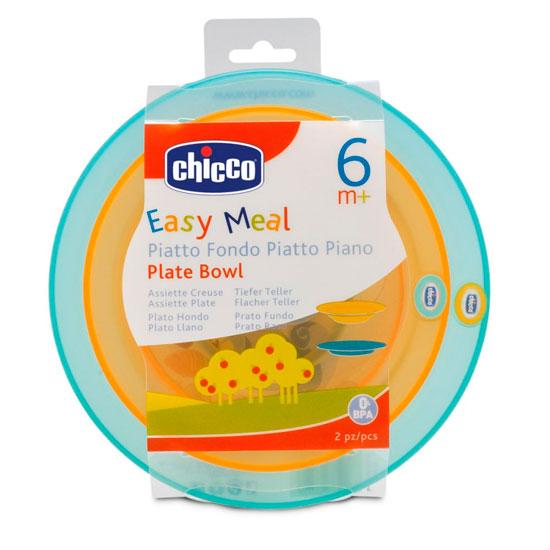 Посуда Chicco Набор для кормления