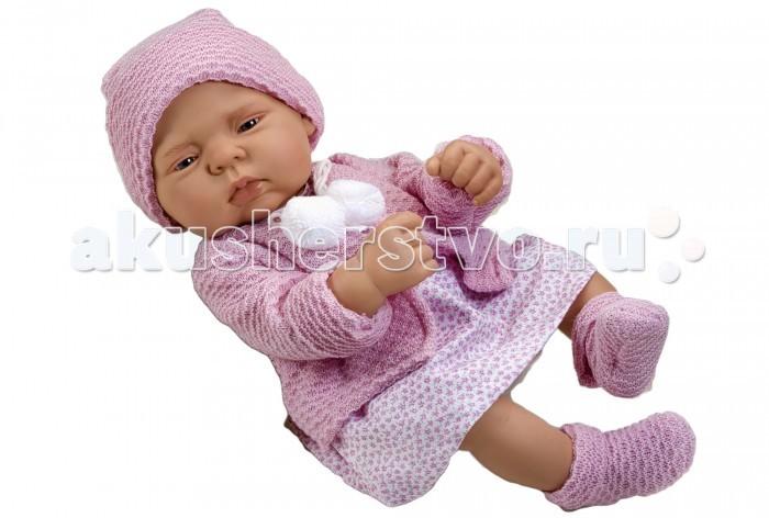 ASI Кукла Лулу 40 см 2320043Кукла Лулу 40 см 2320043ASI Кукла Лулу 40 см 2320043 - идеальный вариант, если Вы ищите куклу, похожую на новорожденного.  Кроха Лулу выглядит очень натуралистично: у нее очаровательные пухлые щечки и губки, маленький носик, полуприкрытые глазки.Реборн полностью выполнен из качественного винила.Имеет половые различия.  Малышка Лулу одета в нежное розовое платьице, на ножках у нее теплые носочки, в тон ее кофточки. На голове красуется чудесная легкая шапочка.  Прилагается именной Сертификат от ASI с датой рождения.  Особенности:  кукла ASI сделана очень качественно.  Без запаха.   Используется безопасный твердый винил.  Видна прорисовка мельчайших подробностей тела, рук и ног.<br>
