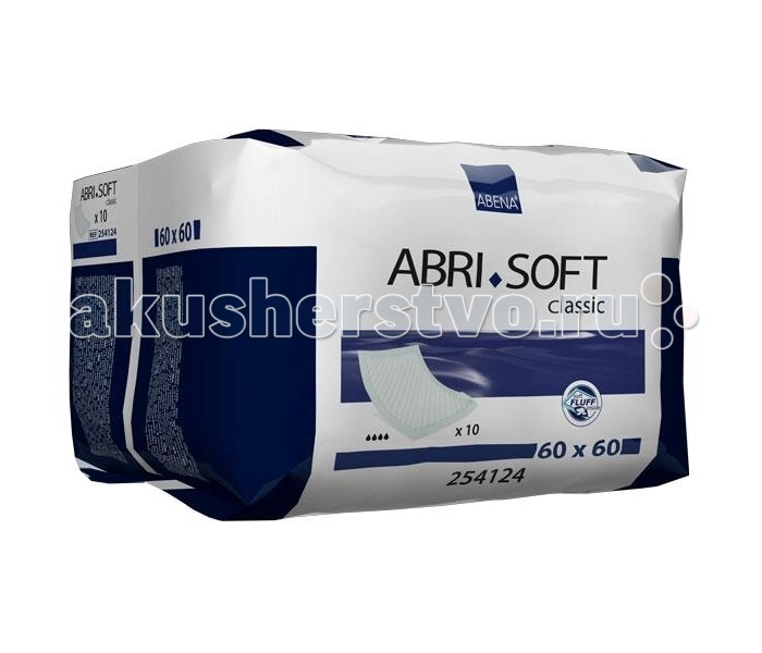 Abena Пеленки Abri-Soft Classic 60х60 10 шт 254124