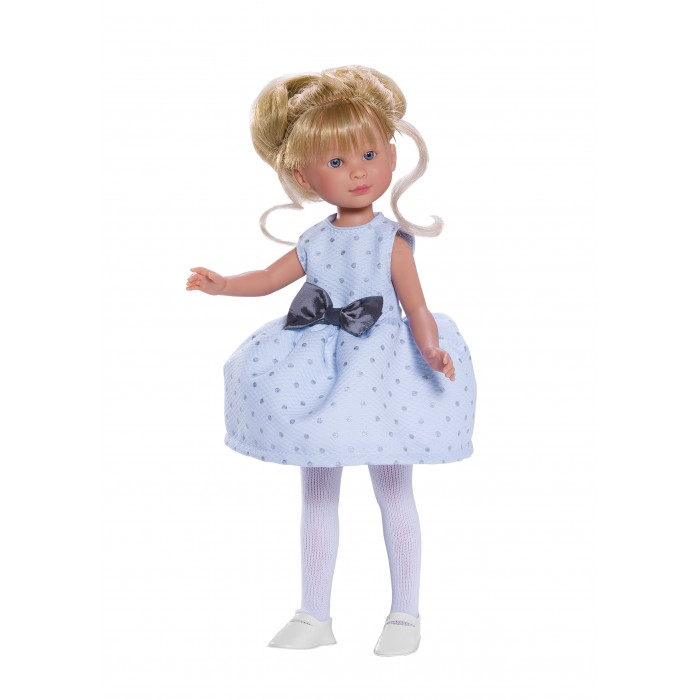ASI Кукла Селия 30 см 163330Кукла Селия 30 см 163330ASI Кукла Селия 30 см 163330 - отличный подарок к празднику!  Волосы у Селии длинные, прошитые, собранные. Два очаровательных локона обрамляют лицо. У куколки очень красивое личико: нежно-розовые губки и голубые глаза.Одета в голубое платье с бантиком.Упакована в красивую подарочную коробку.  Выполнена из качественного винила, приятного на ощупь и очень натуралистичного по цвету.  Особенности:  кукла ASI сделана очень качественно.  Без запаха.   Используется безопасный твердый винил.  Видна прорисовка мельчайших подробностей тела, рук и ног.<br>