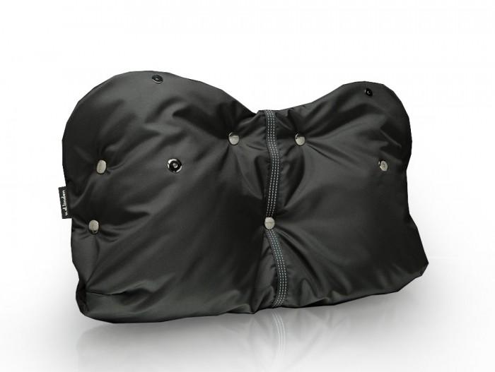 u.d.Linden Муфта для рук Black-fleeceМуфта для рук Black-fleeceu.d.Linden Муфта для рук Black-fleece    Особенности: уникальная конструкция с отворотными манжетами на магнитных кнопках, дополнительные накладки на ручку коляски,  регулируемый размер,  светоотражающая стропа,  наружная непромокаемая ткань нейлон 100%, у паковано в подарочную коробку,  усиленные центральные кнопки extra strong<br>
