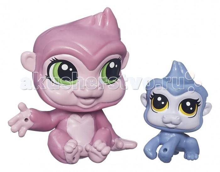 Littlest Pet Shop Saffron Sweetin и ее малышка Zanna Sweeti