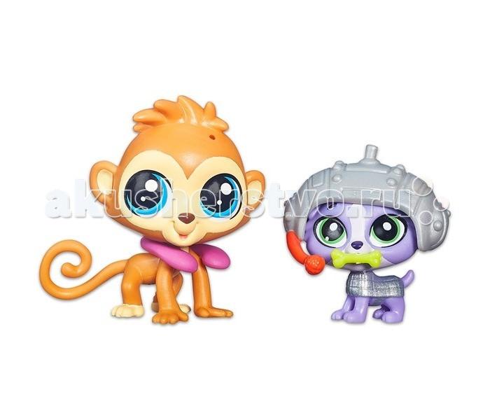 Littlest Pet Shop Чип Чип Чипман и Люк Йоркшир
