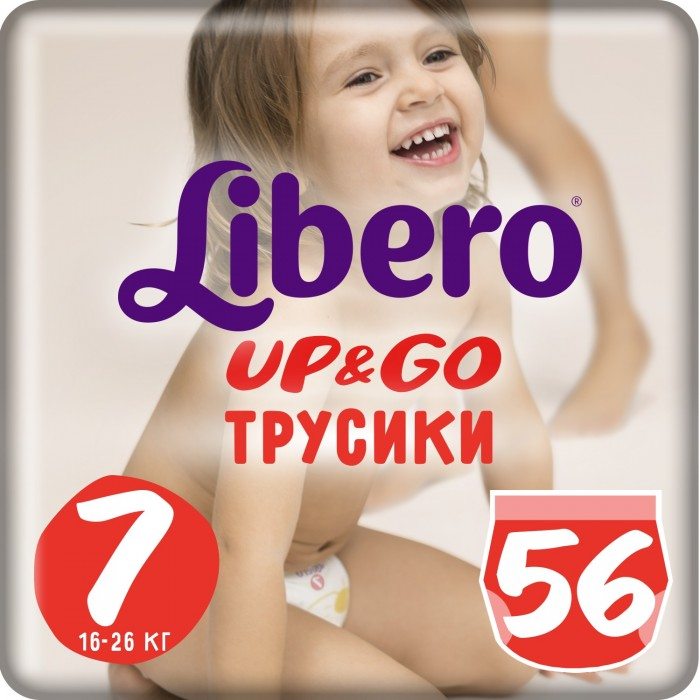 Libero ����������-������� Up&Go Giga Pack (16-26 ��) 56 ��.