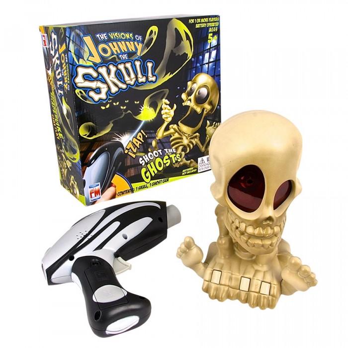 Интерактивная игрушка Johnny the Skull Тир проекционный с 1 бластером
