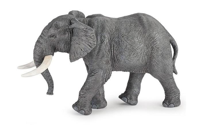 Papo Фигурка Африканский слонФигурка Африканский слонPapo Фигурка Африканский слон. Игровые реалистичные фигурки животных Papo. Ручная роспись. Все фигурки Papo проходят тщательную подготовку и обработку, поэтому они крепкие и долговечные.  Материал: высококачественный полимерный материал.<br>