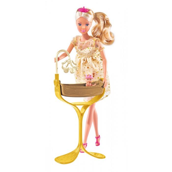 Simba Кукла Штеффи беременная королевский набор 29 см