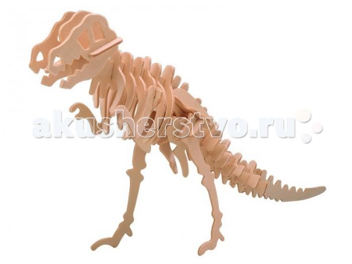 Конструктор МДИ Тиранозавр серия Ж малыйТиранозавр серия Ж малыйМДИ Тиранозавр серия Ж малый Ж014а                      Сборная модель-конструктор. Развивает моторику, логику, объемное мышление и др. Интересен как детям, так и взрослым. Детали гладко отшлифованы, без «заусениц», «заноз» и «сучков». Данный качественный продукт из отечественного дерева отличает характерный аромат натуральной древесины. Продукт экологичен, полностью отсутствуют химические добавки<br>