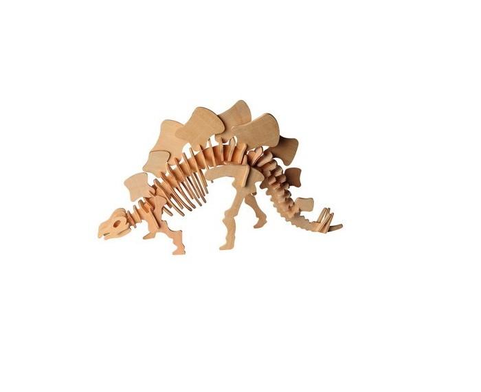 Конструктор МДИ Стегозавр 2 серия ЖСтегозавр 2 серия ЖМДИ Стегозавр 2 серия Ж Ж016                       Сборная деревянная модель Стегозавр состоит из нескольких деталей, которые легко соединяются и отсоединяются между собой. Доисторический ящер представлен в виде скелета с изогнутым позвоночником, на котором крепятся большие пластины, являющиеся отличительной особенностью данного динозавра. Устойчивое изделие можно раскрасить, сделав ее интересней.<br>