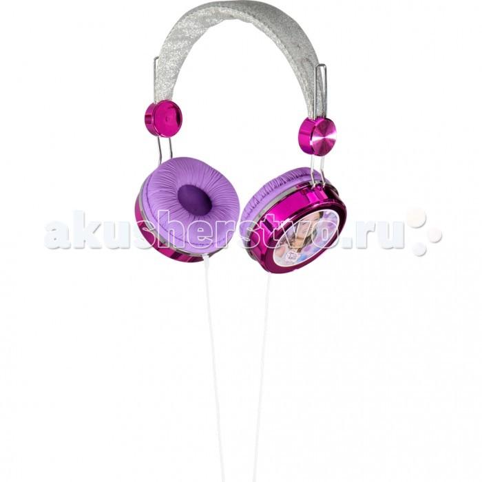 Развивающая игрушка Spin Master Виолетта Наушники с блесткамиВиолетта Наушники с блесткамиSpin Master Виолетта Наушники с блестками.   Яркие наушники с блестками из серии, посвященной сюжету известного молодежного сериала Виолетта Violetta! Слушайте любимую музыку с этими потрясающими наушниками, на которых изображена любимая героиня! Ободок серебристого цвета украшен блестками, а сами наушники красивого сиреневого и розового цвета. Стерео-эффект, переходник, стандартного образца, подходящий как к мобильному телефону, так и MP3 или CD плееру.  Яркий и броский дизайн Стерео-эффект Подходит ко всем основным видам разъема мобильных телефонов и MP3 или CD плееров.<br>