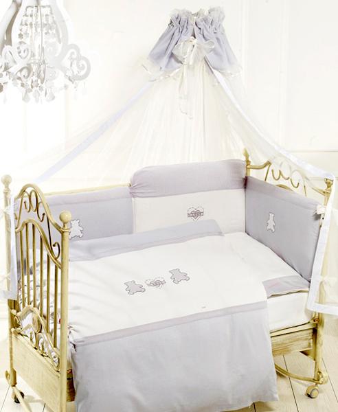 Балдахин для кроватки Feretti Orsetti тюлевый