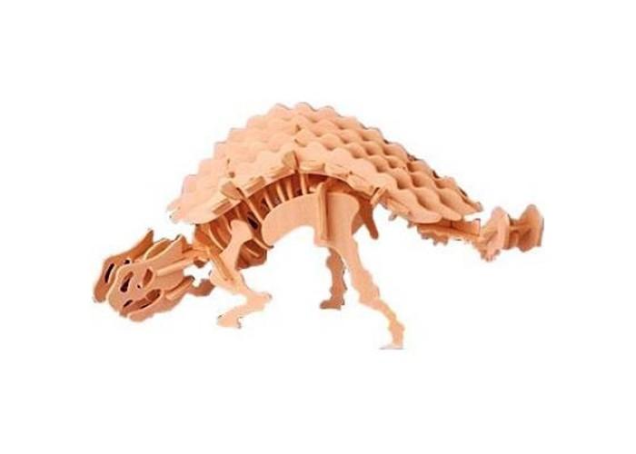 Конструктор МДИ АнкилозаврАнкилозаврМДИ Анкилозавр Ж022                       Сборная деревянная модель Анкилозавр придется по душе всем детям, которым очень интересна эпоха динозавров. Модель сделана интересной и необычной. Детали игрушки хорошо соединяются друг с другом и сделаны из прочной фанеры. Модель гладкая, хорошо отполирована и на ней не торчат занозы. Для разнообразия можно покрасить игрушку красками и покрыть лаком.<br>