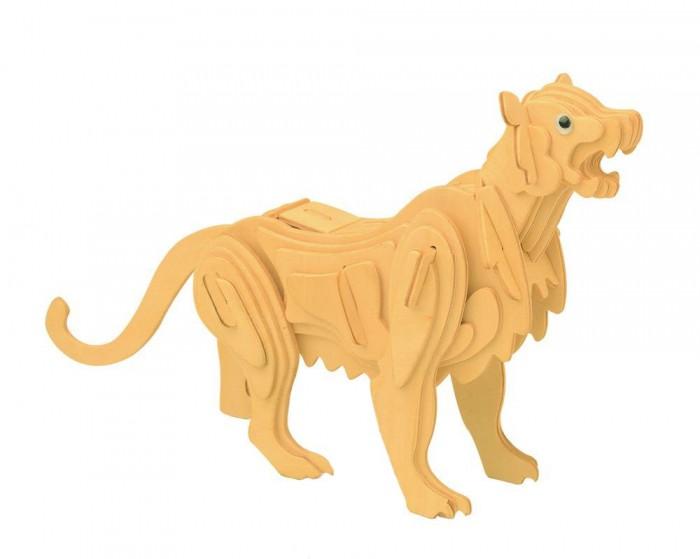 Конструктор МДИ Горный левГорный левМДИ Горный лев М025                       Пума, или горный лев - хищное животное семейства кошачьих. Набор для сборки деревянной модели животное позволит ребенку из 42 деталей собрать фигуру изящной пумы длиной. Детали, располагающиеся в фанерной рамке, необходимо выдавить и собрать согласно инструкции. При сборке модели можно использовать клей, это позволит фигуре пумы не рассыпаться. Собранную модель можно раскрасить любыми красками и покрыть лаком.   Элементы набора выполнены из качественной древесины, тщательно обработаны и не имеют острых краев. Процесс сборки конструктора развивает у ребенка координацию движений, тренирует память и аккуратность, положительно влияет на усидчивость. Собранная и окрашенная модель пумы может стать отличным предметом интерьера комнаты или послужить приятным сувениром близкому человеку.<br>
