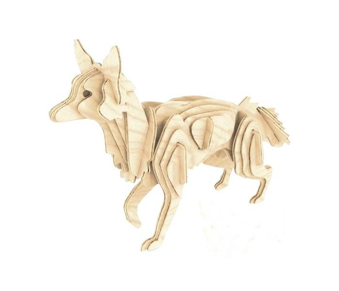 Конструктор МДИ ЛисаЛисаМДИ Лиса М026                       Деревянная модель Лиса представляет собой оригинальный 3D-пазл, который легко собирается без помощи клея. Увлекательная головоломка позволит создать миниатюрную копия дикого животного, которое замерло с поднятой передней лапой, прислушиваясь к подозрительным звукам в чаще леса. Раскрасив фигурку красками, можно сделать ее более интересной и реалистичной.<br>