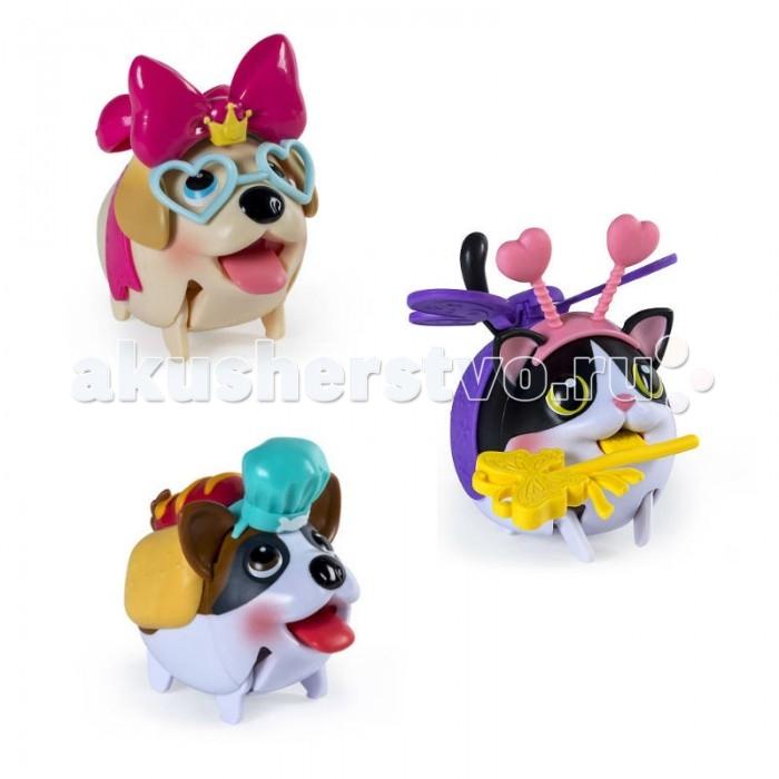 Spin Master Игровой набор Chubby Puppies с сумкой-переноскойИгровой набор Chubby Puppies с сумкой-переноскойSpin Master Игровой набор Chubby Puppies с сумкой-переноской  содержит фигурку исключительно милого домашнего питомца и различные аксессуары, делающие его образ еще более забавным.  Особенности: Игрушка работает от батареек, может самостоятельно двигаться и имеет очень забавную походку.  Также в комплекте есть сумка для удобной переноски игрушки.   Внимание! Игрушка представлена в ассортименте: кошечка / щенок-боксер / щенок-лабрадор.  Размер фигурки: 15 х 11 х 7 см<br>