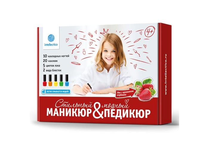 Intellectico Большой набор Модный маникюр и стильный педикюр (2 в 1)