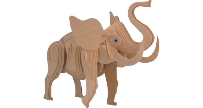 Конструктор МДИ Маленький слон 53 элементаМаленький слон 53 элементаМДИ Маленький слон 53 элемента М029                       Сборная модель Слон от МДИ сделана из натурального дерева. Казалось бы, и чем дерево может помочь в том, чтобы предпринять путешествие в Африку? А ведь может, пусть и лишь отчасти: с этой сборной моделью ребенок может познакомиться с почти настоящим слоном. И все, что для этого нужно сделать - собрать его из деревянных деталек, которые так легко крепятся между собой.<br>
