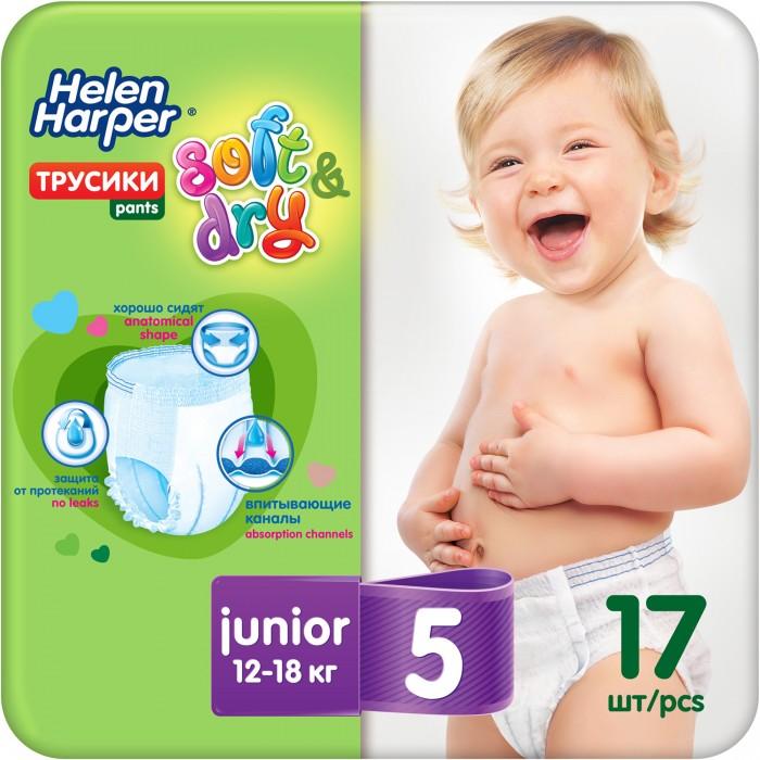 Helen Harper Трусики-подгузники Soft&Dry junior (12-18 кг) 17 шт.