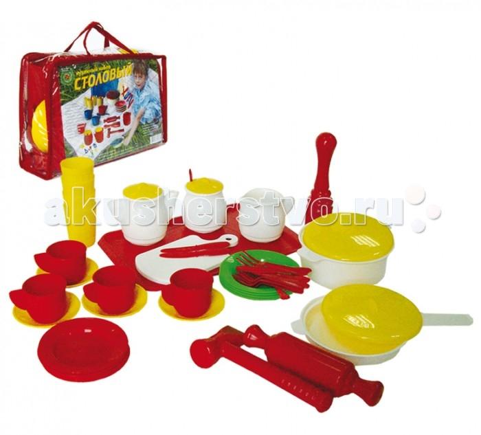 Совтехстром Кухонный набор Столовый 52 предметаКухонный набор Столовый 52 предметаСовтехстром Кухонный набор Столовый 52 предмета  Особенности: Детская игрушечная посуда сделана из безопасного пластика. Поэтому из нее с уверенностью можно есть.  Посуда может быть использована на свежем воздухе для пикника или для ролевых игр с куклами и воображаемыми друзьями.  Посуда выполнена в ярких цветах, что несомненно порадует ребенка и поднимет ему настроение.  Набор рассчитан на четыре персоны и прекрасно сочетается с другими кухонными наборами.<br>
