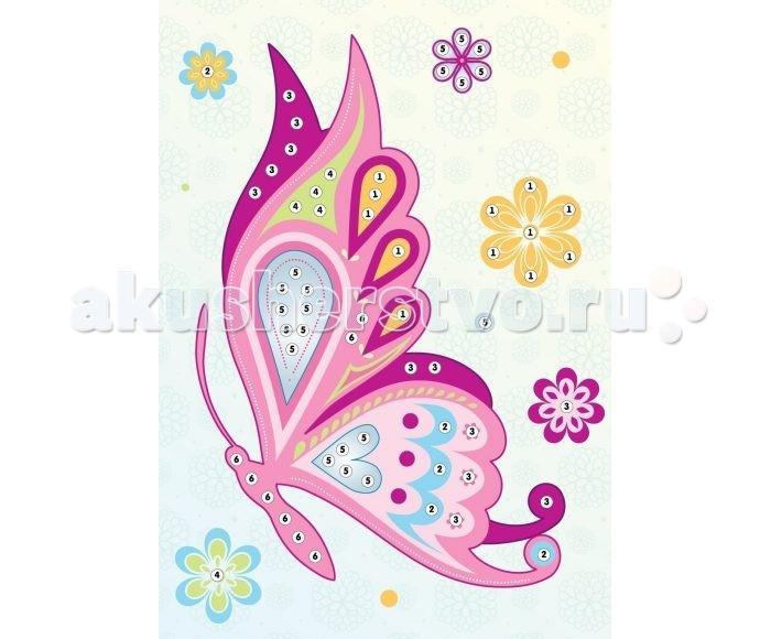 Color Puppy Набор для творчества Аппликация Бабочка 635160
