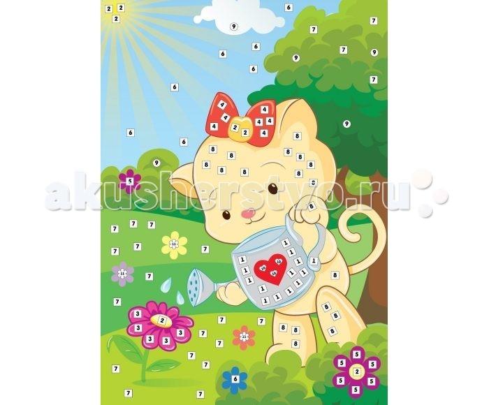 Color Puppy Набор для творчества Аппликация Кошечка - садовник 635166