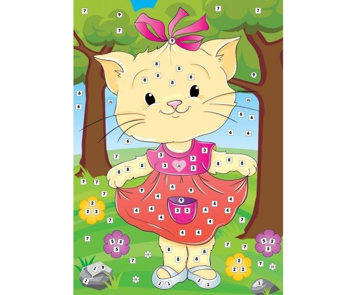 Color Puppy Набор для творчества Аппликация Кошка Муся 635169