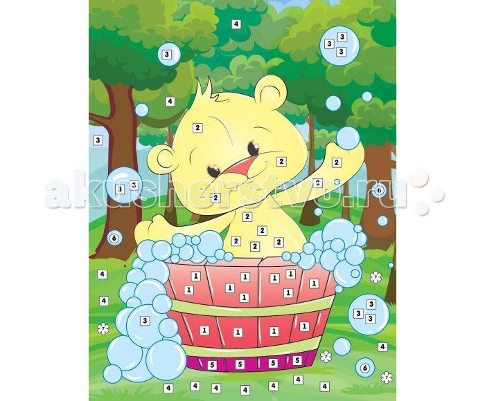 Color Puppy Набор для творчества Аппликация Мишкино купание 635172