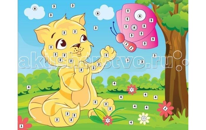 Color Puppy Набор для творчества Аппликация Кот и бабочка 635174Набор для творчества Аппликация Кот и бабочка 635174Color Puppу Набор для творчества Аппликация Кот и бабочка - это набор для детского творчества, который поможет малышу развить свои способности. Наборы ТМ Color Puppy предназначены для детей старше трех лет и предлагают задания различных уровней сложности, поэтому заинтересуют как дошкольников, так и младших школьников.  Творческое занятие развивает воображение, мелкую моторику рук и художественный вкус ребенка.  Комплектность:  картинка -  0.21,5 х 0.16,5 блестящие плитки на клеящей основе,стразы.<br>