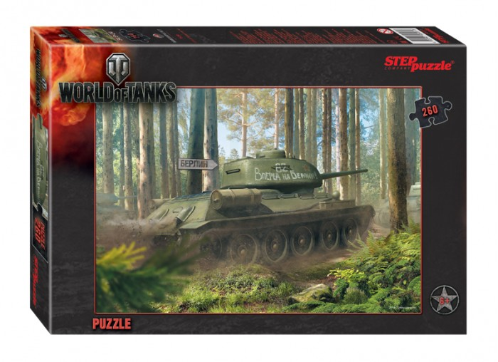 Step Puzzle Пазл World of Tanks 260 элементов