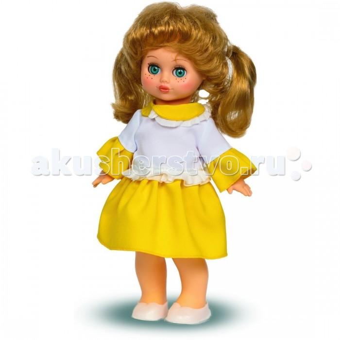Весна Кукла Настя 16 озвученная 30 смКукла Настя 16 озвученная 30 смКукла Настя со звуковым модулем. Милая небольшая куколка очень похожа на настоящую девочку: у нее большие глаза, которые она может открывать и закрывать, веснушки на носике; также Настя умеет разговаривать, она может произнести несколько слов! У нее поворачивается головка, руки и ноги можно поднимать и опускать.  Куколка одета в летнее платье и удобные балетки. Игрушка сделана из винила и пластика, ее волосы - из нейлона.  При нажатии на спинку кукла произносит: -Мама. -Почитай мне книжку. -Давай поиграем. -Есть хочу. -Хочу спать.<br>