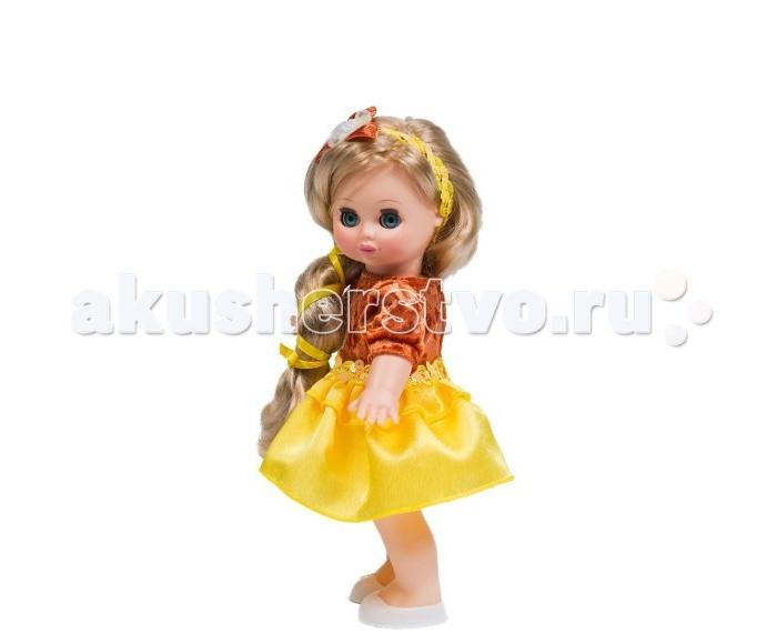 Весна Кукла Настя 6 озвученнаяКукла Настя 6 озвученнаяКукла Настя одета в нарядное платье из бархата и шелка, украшенное пайетками. На голове - ободок с атласной лентой. Волосы куклы прошитые, из нейлона, их можно завивать, расчесывать, укладывать в разные прически, меняя образ куклы. Глаза вставные закрывающиеся. Ручки и голова выполнены из эластичного, приятного на ощупь винила, а туловище и ноги из пластмассы.  При нажатии на спинку кукла говорит.  Рост куклы - 30 см.<br>