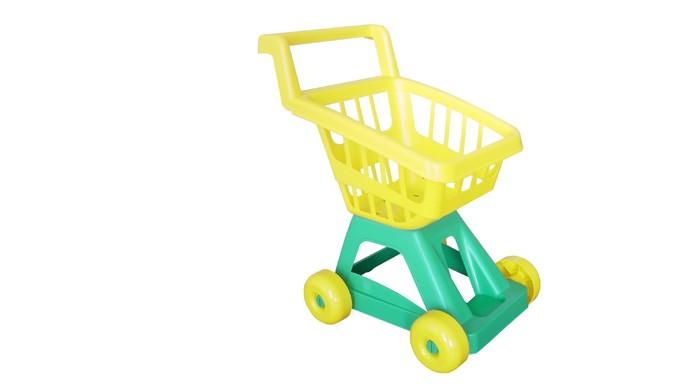 Совтехстром Тележка для супермаркетаТележка для супермаркетаСовтехстром Тележка для супермаркета в которой ваша малышка сможет возить продукты, играя в магазин.   Игрушка изготовлена из высококачественных материалов, безопасных для здоровья.  Размер игрушки: 47 х 25 х 39 см<br>