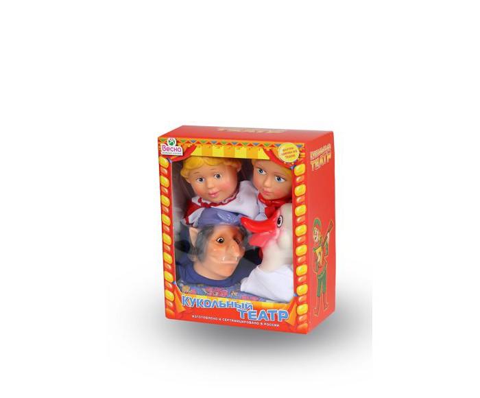 Весна Кукольный театр 4 персонажа с ширмой 3Кукольный театр 4 персонажа с ширмой 3Кукольный театр № 3 представляет собой ширму, на фоне которой может разворачиваться волшебное действие с участием 4 кукол-перчаток. С их помощью можно будет разыграть множество известных сказок или совершенно новую историю, сценарий которой зависит только от силы воображения.  Куклы выполнены мягкого на ощупь материала и каждая из них одета в свой неповторимый наряд.<br>