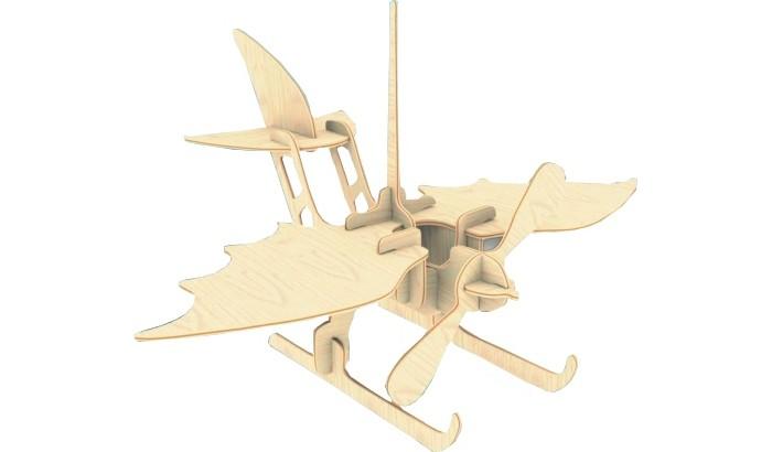 Конструктор МДИ ГидропланГидропланМДИ Гидроплан П003                       Сборная модель Гидроплан состоит из деревянных деталей, размещенных на нескольких пластинах и отличающихся друг от друга формами и размерами. После сборки игрушечный летательный аппарат можно разукрасить разными красками или фломастерами, что сделает модель ярче. Также ребенок сможет склеить собранную модель, сделав ее крепче, что позволит ему использовать гидроплан в более активных играх.<br>