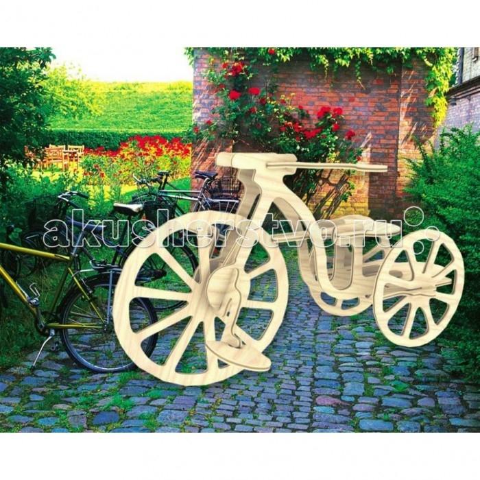 Конструктор МДИ Велосипед серия ПВелосипед серия ПМДИ Велосипед серия П П012                       Сборная деревянная модель Велосипед из серии Транспорт предназначена для детей от 5 лет. Ребенку нужно будет выдавливать детали для сборки из фанерной досточки и соединять их, следуя подробной инструкции. Собранную модель можно раскрасить с помощью обычных красок, самостоятельно придумывая своеобразный дизайн, чтобы сделать конструкцию яркой и креативной.<br>