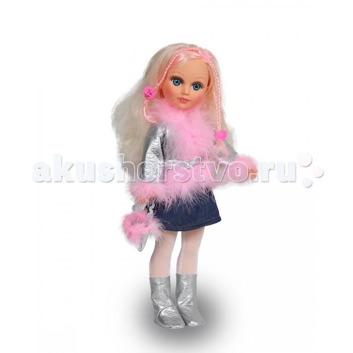 Весна Кукла Анастасия 1 озвученная 42 смКукла Анастасия 1 озвученная 42 смОчаровательная кукла Анастасия - это самая модная девочка, которая имеет длинные волосы, с окрашенными прядями, а также самую красивую одежду. В комплекте имеются заколочки для создания разнообразных причесок.  В качестве одежды представлен стильный костюм. Обувь Анастасии прекрасно гармонирует с образом куклы. Также в составе комплекта имеется сумочка для Насти.  Кукла может произносить несколько фраз при нажатии на звуковое устройство в спинке:  -Привет! Давай потанцуем. -Я люблю музыку. -Возьми меня за ручки. -Покружись со мной. -Как здорово! -А сейчас спой мне песенку. -А другую песенку… -Мне очень нравится!<br>