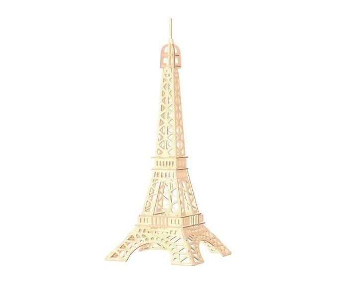Конструктор МДИ Эйфелева башняЭйфелева башняМДИ Эйфелева башня П030                       В собранном виде данная модель копирует одно из известнейших архитектурных сооружений - Эйфелеву башню. Игрушечная копия состоит из деревянных пронумерованных деталей, которые легко соединяются и разъединяются. После сборки самую романтическую башню можно склеить, а также покрасить в любыми красками или фломастерами.<br>