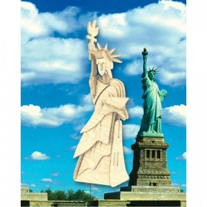 Конструктор МДИ малый Статуя Свободымалый Статуя СвободыМДИ малый Статуя Свободы П031а                      Сборная деревянная модель Статуя Свободы, служащая символом демократии, займет почетное место в коллекции сборных моделей. Она состоит из элементов, изготовленных из древесины, в составе которых не используются химические вещества. Все элементы модели находятся в фанерном листе, они без труда извлекаются и склеиваются по инструкции. При желании готовую модель можно раскрасить на свой вкус красками, которые найдутся дома или покрыть ее лаком. Такая сборная модель в виде миниатюрной Богини свободы принесет частичку Нью-Йорка в дом и послужит уникальным украшением в комнате.<br>
