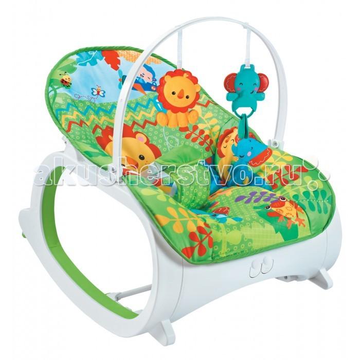 FitchBaby Кресло-качалка с игрушками и вибрацией Infant-To-Toddler Delux 88925