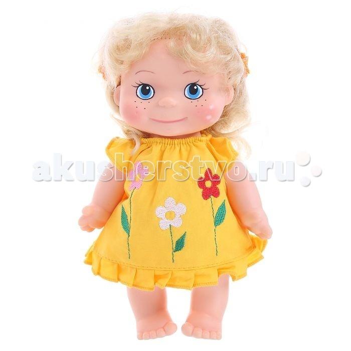 Весна Кукла Маринка 7 22 смКукла Маринка 7 22 смКуколка по имени Маринка одета в легкий летний сарафанчик, в котором она сможет гулять со своей хозяйкой на улице, ходить в воображаемые магазины и кафе. Девочки смогут придать игрушке сидячее положение, переодевать, а также делать Маринке разные прически.  Данная кукла сможет принять участие в любых сюжетно-ролевых играх и исполнять разные роли<br>